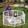 North States In-Out Sand 6-Panel Play Yard