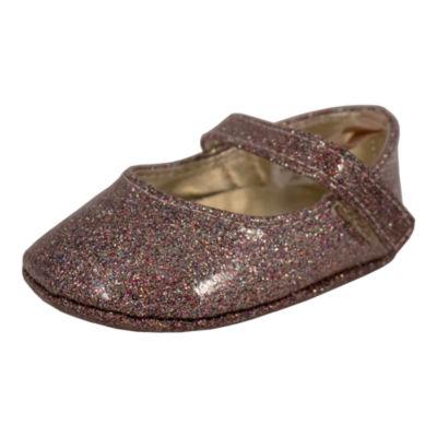Okie Dokie Multi Glitter Slip-On Shoe - Baby Girl