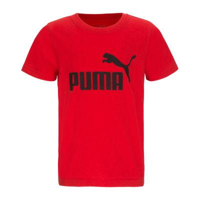 Puma Kids Graphic T-Shirt-Big Kid Boys