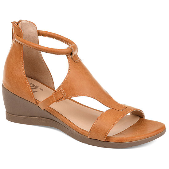 Journee Collection Womens Trayle Wedge Sandals