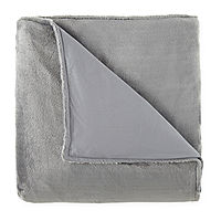 Deals on Beautyrest 15lb Weighted Blanket with Removable Cover