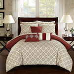 Chic Home Maddie 10-pc. Midweight Comforter Set