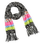 Mixit Striped Cold Weather Scarf