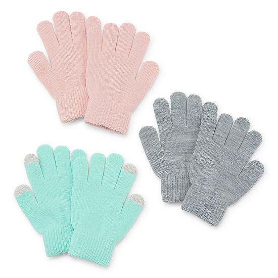 Arizona Little Kid / Big Kid Girls Cold Weather Gloves