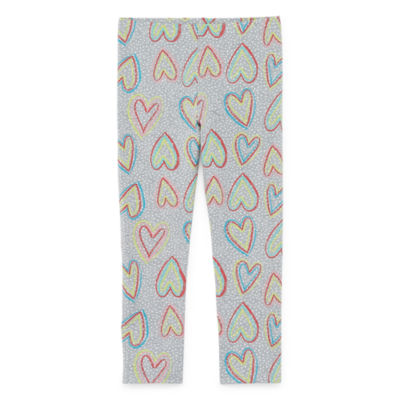 Okie Dokie Printed Toddler Girls Full Length Leggings