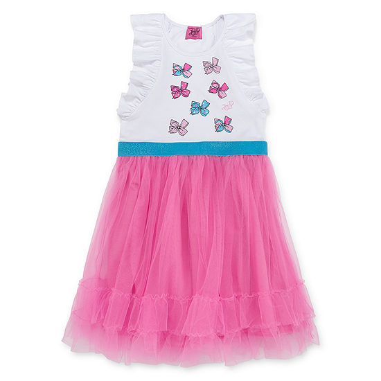 Jojo Siwa Embellished Sleeveless Tutu Dress - Preschool / Big Kid Girls