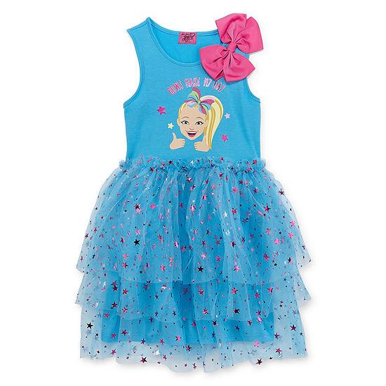 Jojo Siwa Embellished Sleeveless Tutu Dress - Preschool / Big Kid Girls