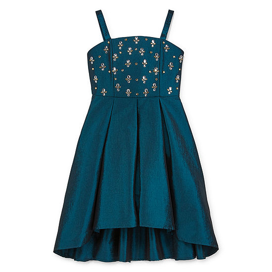 My Michelle Big Girls Sleeveless High-Low Party Dress