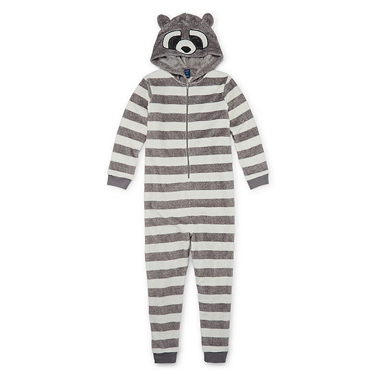 Arizona Boys Fleece Long Sleeve One Piece Pajama