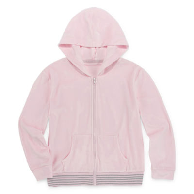 Xersion Velour Girls Hoodie - Preschool / Big Kid