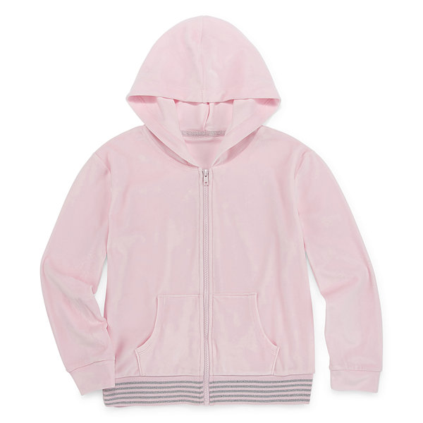 Xersion Velour - Little Kid / Big Kid Girls Hoodie