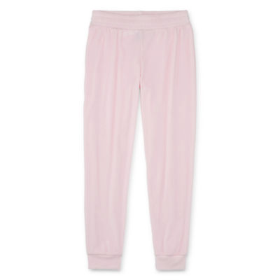 Xersion Girls Velour Cuffed Jogger Pant - Preschool / Big Kid