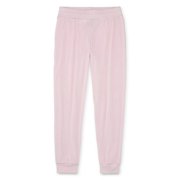 Xersion Velour - Little Kid / Big Kid Girls Cuffed Jogger Pant