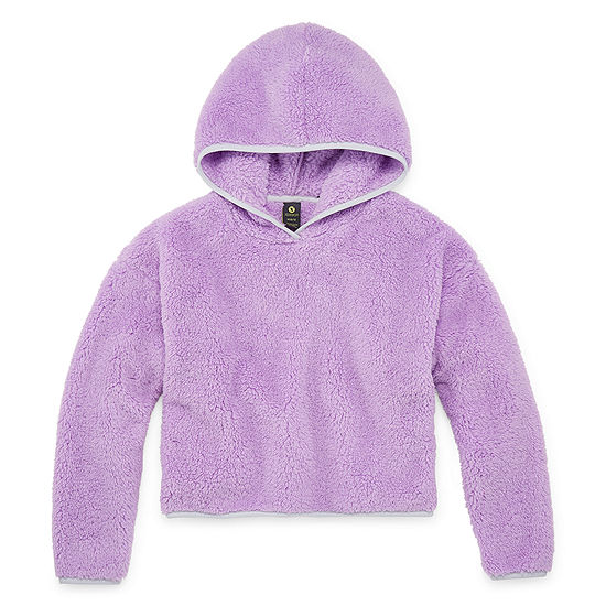 Xersion Minky Fleece Girls Hoodie - Preschool / Big Kid