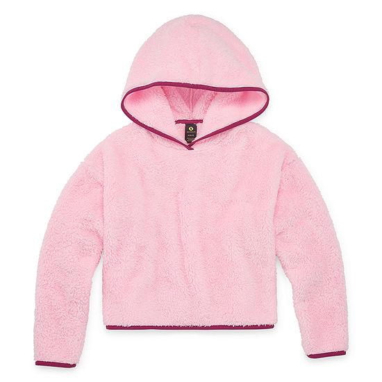 Xersion Minky Fleece Little & Big Girls Hoodie