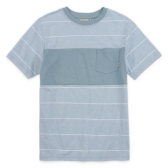 Vans Little & Big Boys Crew Neck Short Sleeve T-Shirt