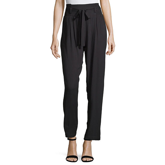 Society And Stitch Womens Relaxed Fit Tapered Trouser-Juniors