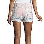 "Arizona Womens 2 1/2"" Denim Short-Juniors"
