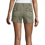 "Arizona Womens 2 1/2"" Cargo Short - Juniors"