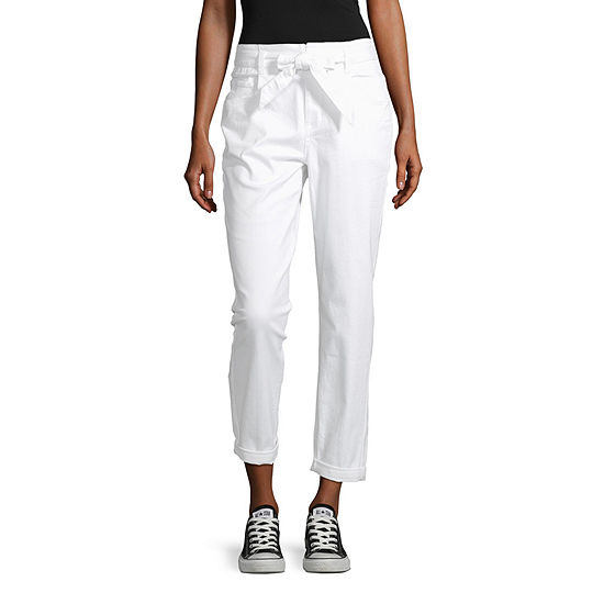 Arizona-Juniors Womens Regular Fit Ankle Pant