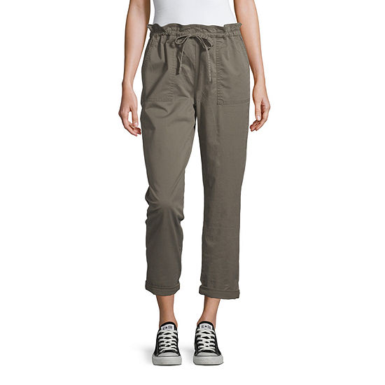 Arizona Womens Regular Fit Ankle Pant - Juniors