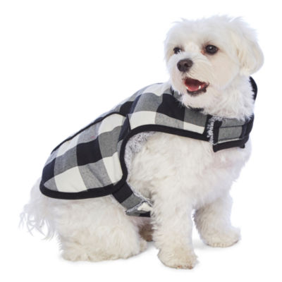 PAW & TAIL Gingham Dog Coat