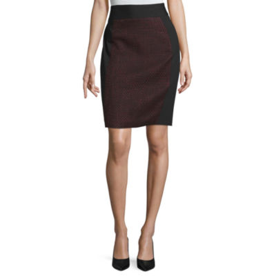 Liz Claiborne Womens Pencil Skirt
