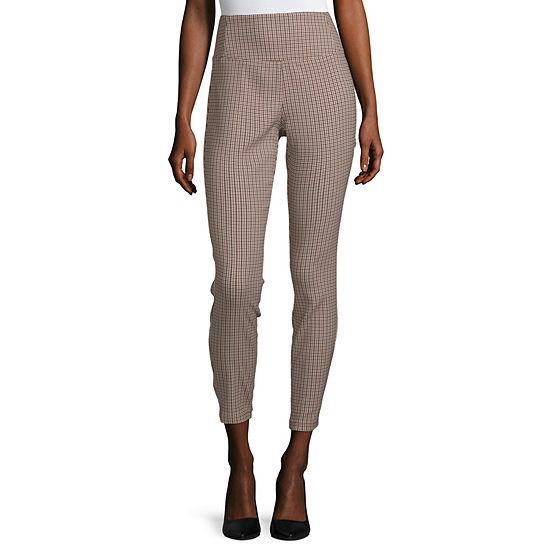 Worthington Womens Skinny Pull-On Pants