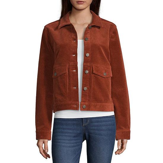 a.n.a Corduroy Shirt Jacket