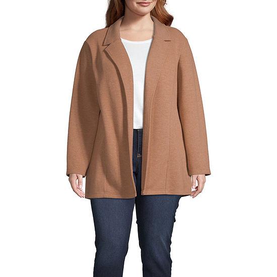 Worthington Womens Lady Coat - Plus
