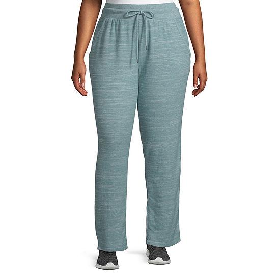 St. John's Bay Active Womens Slim Sweatpant-Plus