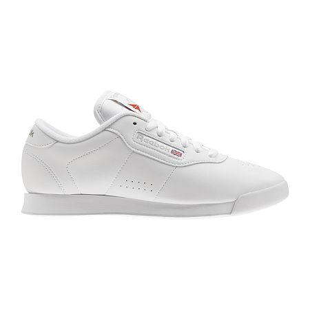 Vintage Sneakers, Retro Designs for Women Reebok Princess Classic Womens Shoes 9 12 Wide White $39.99 AT vintagedancer.com