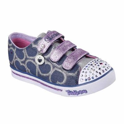 Skechers® Twinkle Toes Sparkle Glitz Girls Sneaker - Little Kids/Big Kids