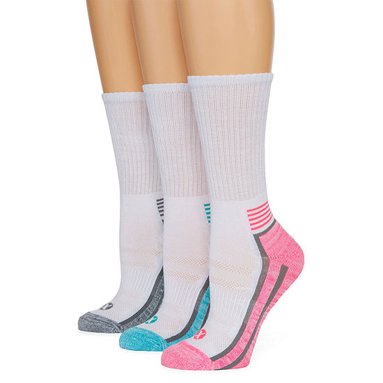 Xersion 3 Pair Crew Socks - Womens