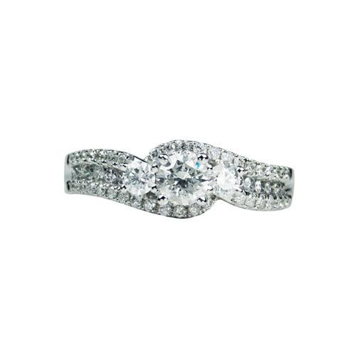 LIMITED QUANTITIES! Womens 1 CT. T.W. White Diamond 14K Gold Bridal Set