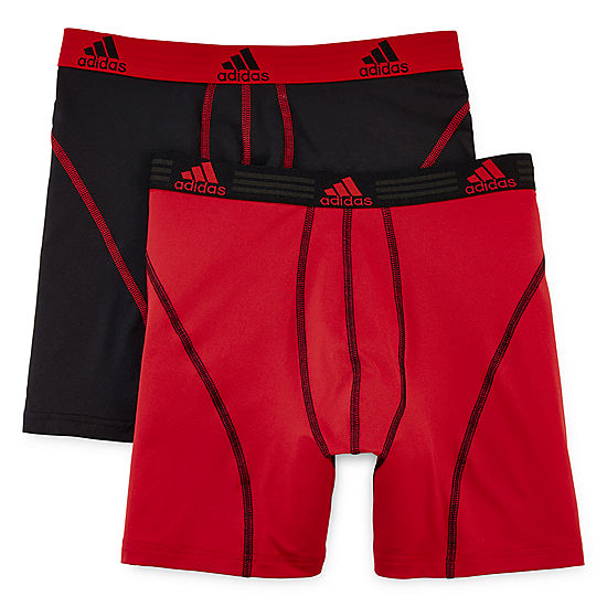 69a89d47616f adidas 2 pk Sport Performance climalite Boxer Briefs JCPenney