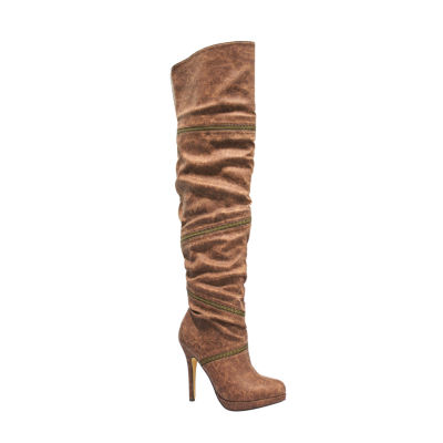 Michael Antonio Presser Womens Over the Knee Boots