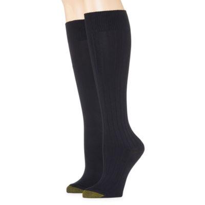 Goldtoe® 2-pk. Ultra-Soft Knee-High Socks