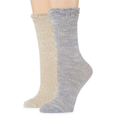 Gold Toe 2 Pair Crew Socks - Womens