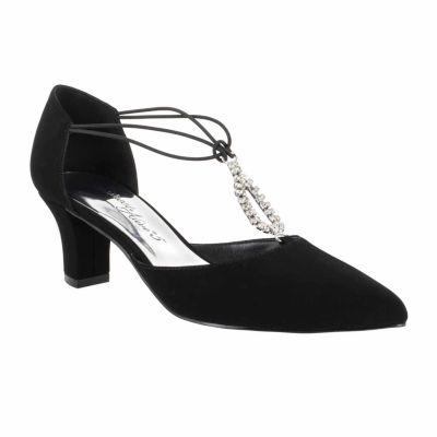 Easy Street Womens Moonlight Pumps Slip-on Pointed Toe Cone Heel