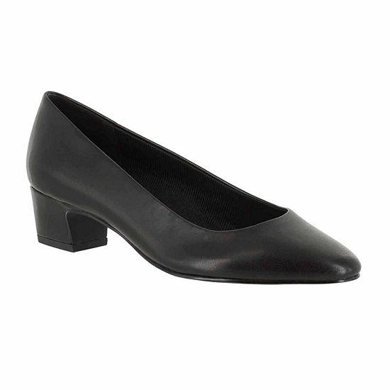 Easy Street Womens Prim Pumps Round Toe Block Heel