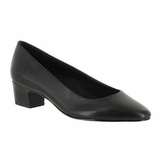 Easy Street Womens Prim Pumps Block Heel