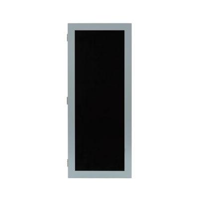 Grey Wall Jewelry Box with Chalkboard