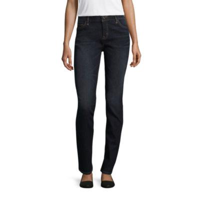 Liz Claiborne Flex Fit 5 Pocket Skinny - Tall