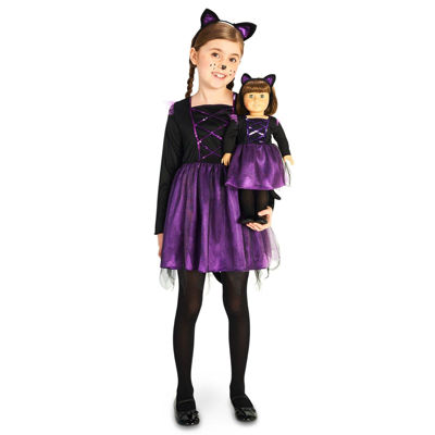 Ballerina Kitty Child Costume with Matching 18 Doll Costume