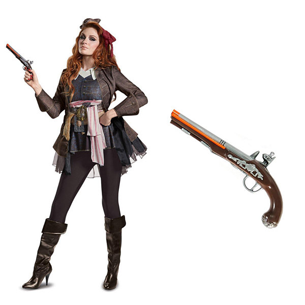 Pirates of the Caribbean Captain Jack Female AdultCostume Kit