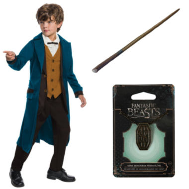Fantastic Beasts and Where to Find Them Newt Deluxe Children's Costume Kit