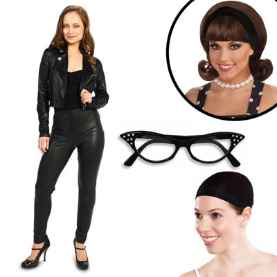 She's a 50's Rebel Adult Costume Kit