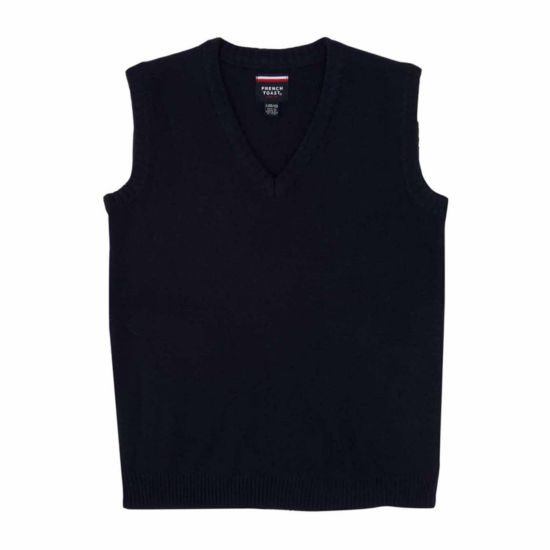 French Toast Vneck Sweater Vest - Big Kid Boys