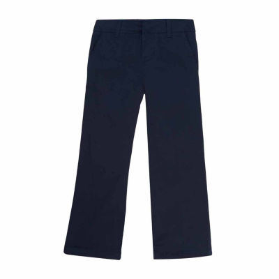 French Toast Flat-Front Pants – Preschool Girls and Slim